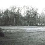 Prázdný rybník v Kvasinách
